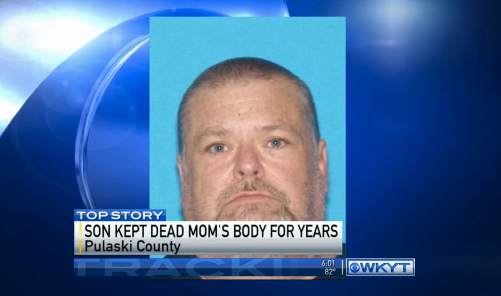 KY suicide had frozen his mother's body for three years to get her retirement checks