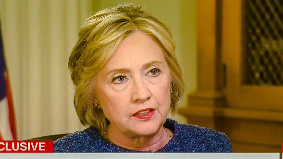 Clinton unmasks Trump's 'phony strength': He gives 'comfort to ISIS' by promoting religious war