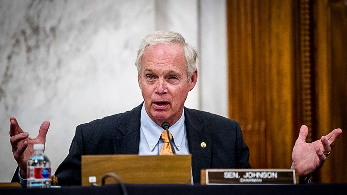 Republican Ron Johnson now saying 'it didn't seem like an armed insurrection to me'