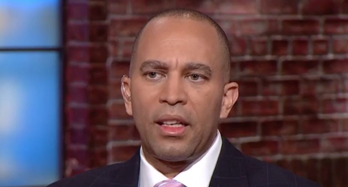 Hakeem Jeffries slaps down Trump's new 'sad and pathetic' attorney for 'racist' comments before Senate trial