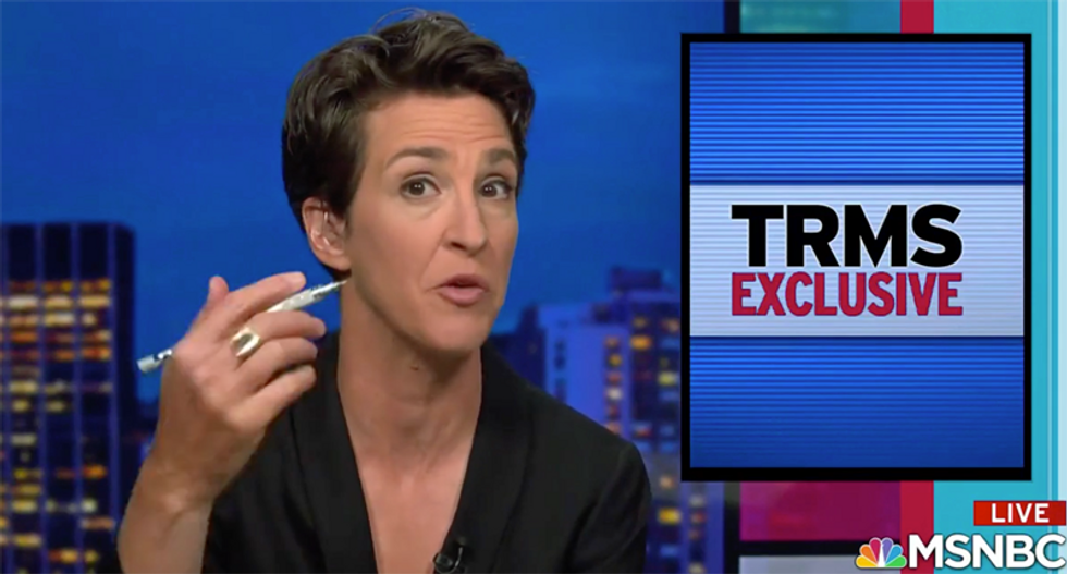 Maddow exclusive busts CDC director for shocking corruption scandal — and has the documents to prove it