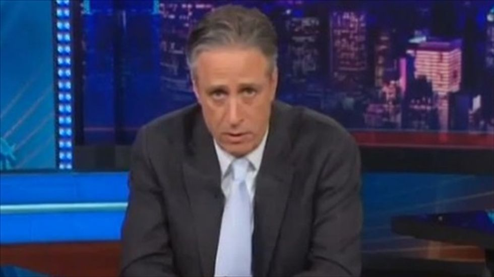 Jon Stewart tells NY lawmakers: The people do not give a f*ck what you think of yogurt