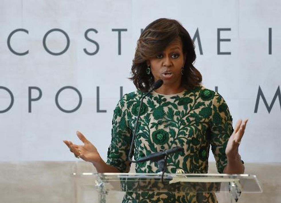 Nigeria abductions an 'unconscionable' terror act: Michelle Obama