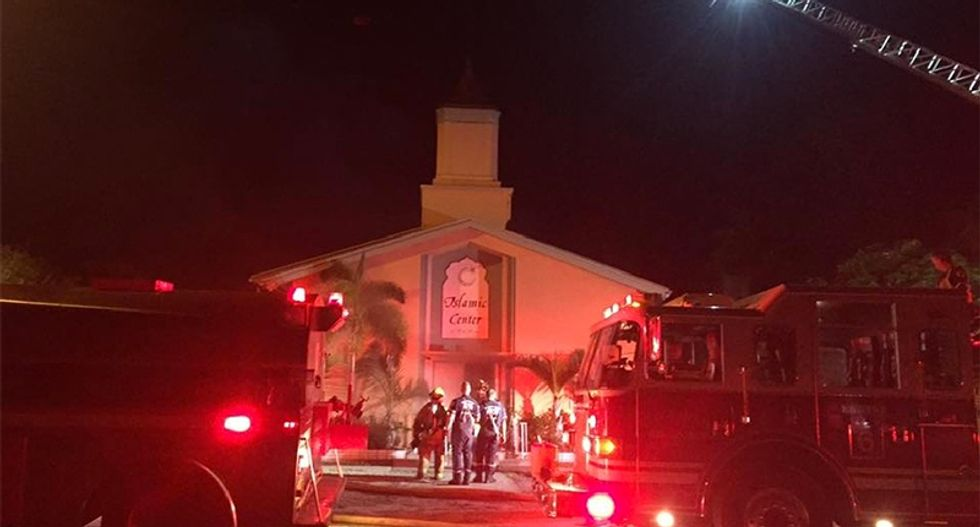 Overnight fire destroys mosque where Pulse nightclub shooter worshiped