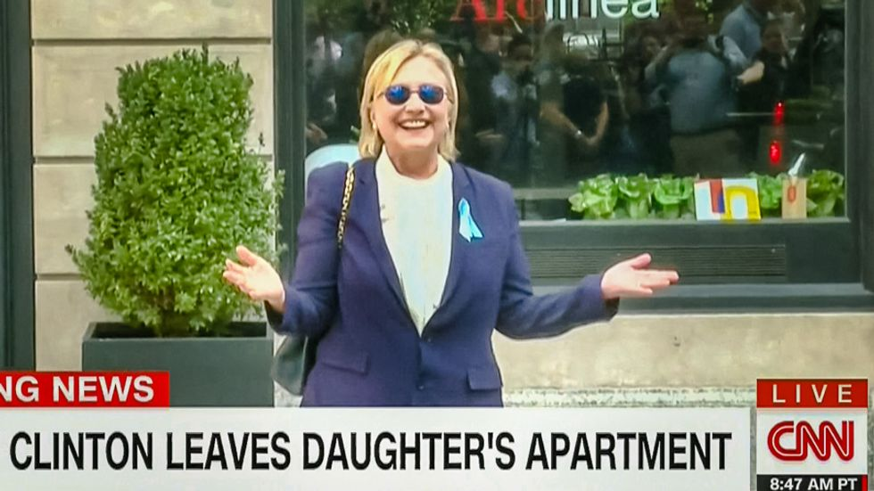 Fox whips alt-right into frenzy with sketchy claim Clinton had 'medical episode' at 9/11 memorial