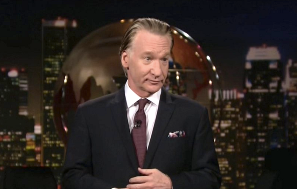 Bill Maher: GOP says it's okay for Trump to attack Syria because he's not 'bombing while black'