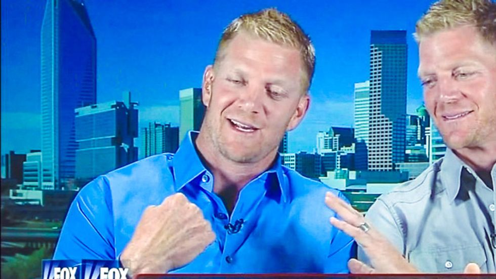 Fist-waving fired HGTV hosts are ready to 'clean house' on the gay 'agenda of silence'