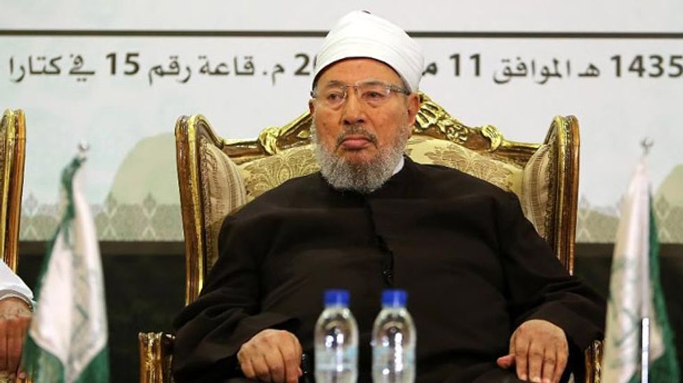 Qatar-based cleric urged Egyptians to boycott the upcoming presidential election