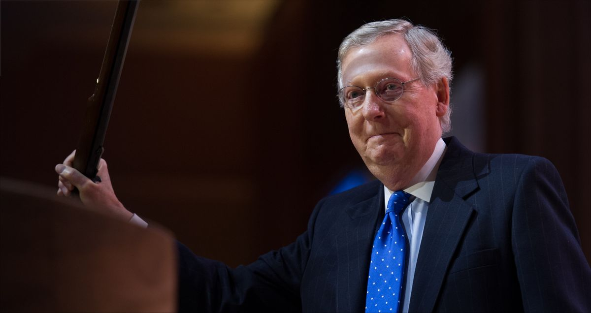 The 'Republican Party is imploding before our very eyes': Analyst says McConnell is digging his own grave