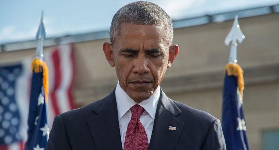 Congress rejects Obama veto, Saudi September 11 bill becomes law