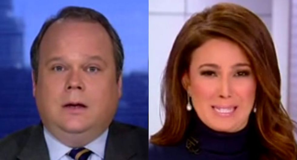 Fox host awkwardly cuts off reporter as he mocks GOP for holding Comey hearing after losing 40 seats