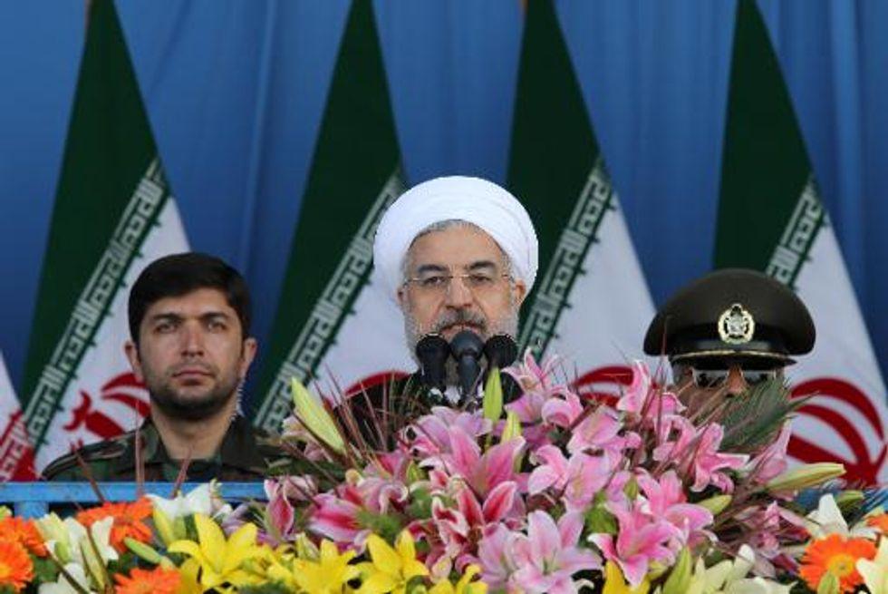 Iran won't accept 'nuclear apartheid': Rouhani