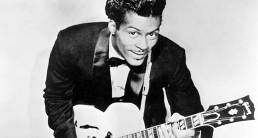 Rock and roll pioneer Chuck Berry dies, age 90