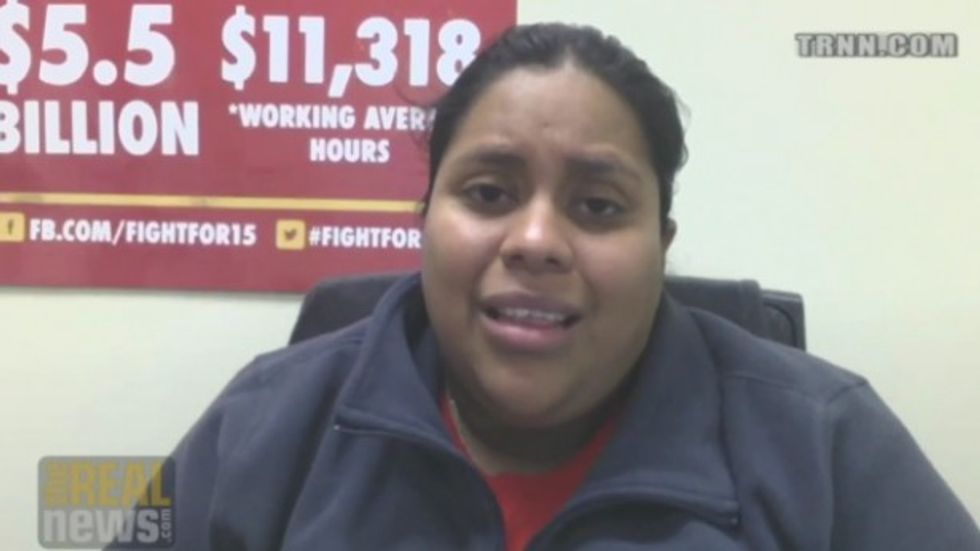 McDonald's worker arrested after telling company president she can't afford shoes