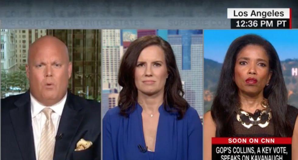 CNN panel of women hammer ex-Trump lawyer attempting to smear Kavanaugh accuser's motives