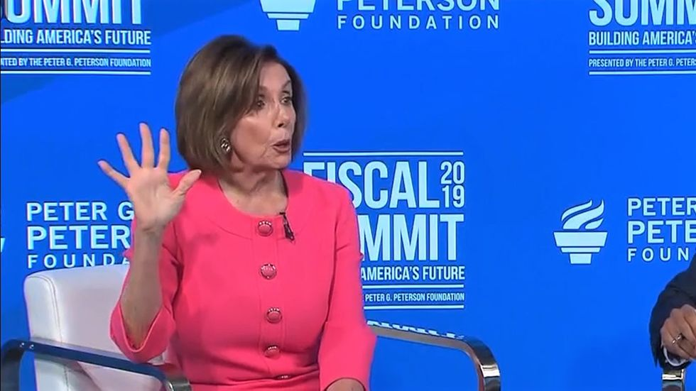 Pelosi bristles after CNN grills her over why she shouldn't impeach Trump if he's committing crimes