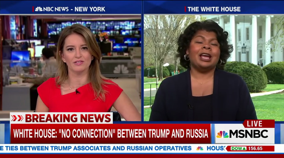 'I was roadkill': April Ryan condemns Sean Spicer's disrespectful abuse of her for bringing up Russia