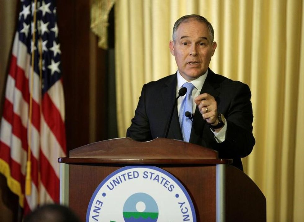 Top aide to embattled EPA chief Scott Pruitt steps down