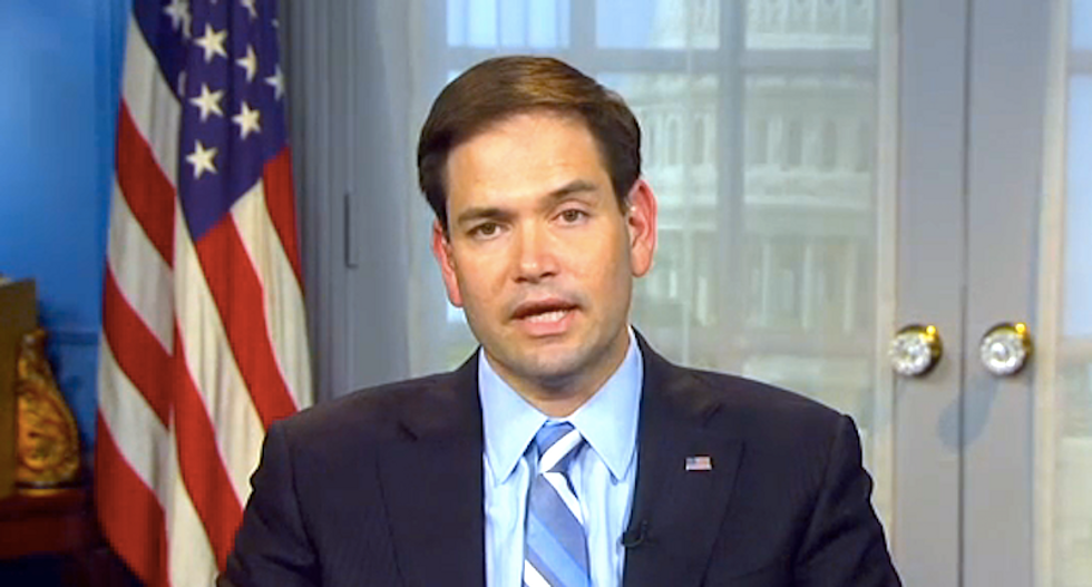 TV host corners Marco Rubio: Would you attend family member's gay wedding?