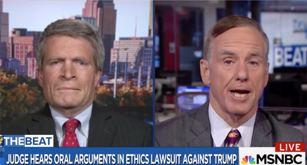 MSNBC panel wonders if Trump has 'a dependency relationship with Russia'