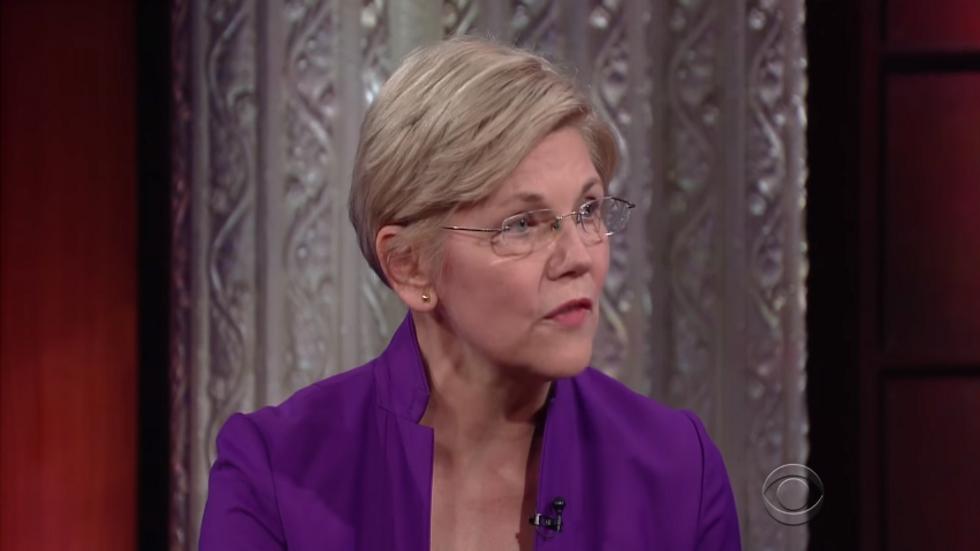 'He sounded like a two-bit dictator': Elizabeth Warren drops the hammer on Trump