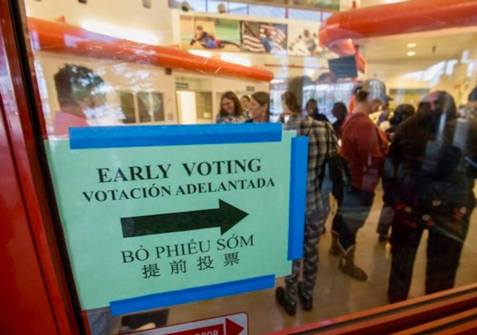 Texas early voting tracker: Here's turnout in the 2018 midterms so far