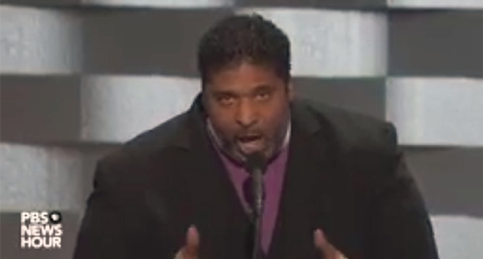 WATCH: Rev. Barber dares right-wing to go nuts: 'Jesus was a brown-skinned Palestinian Jew' at DNC