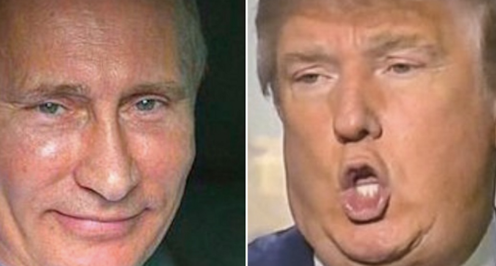 Putin's online 'troll factory' may be trying to get Trump elected to 'undermine the US'