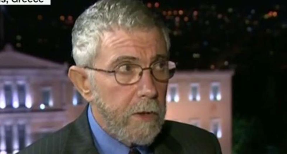 Paul Krugman: Trump is prepared to destroy the planet out of sheer spite