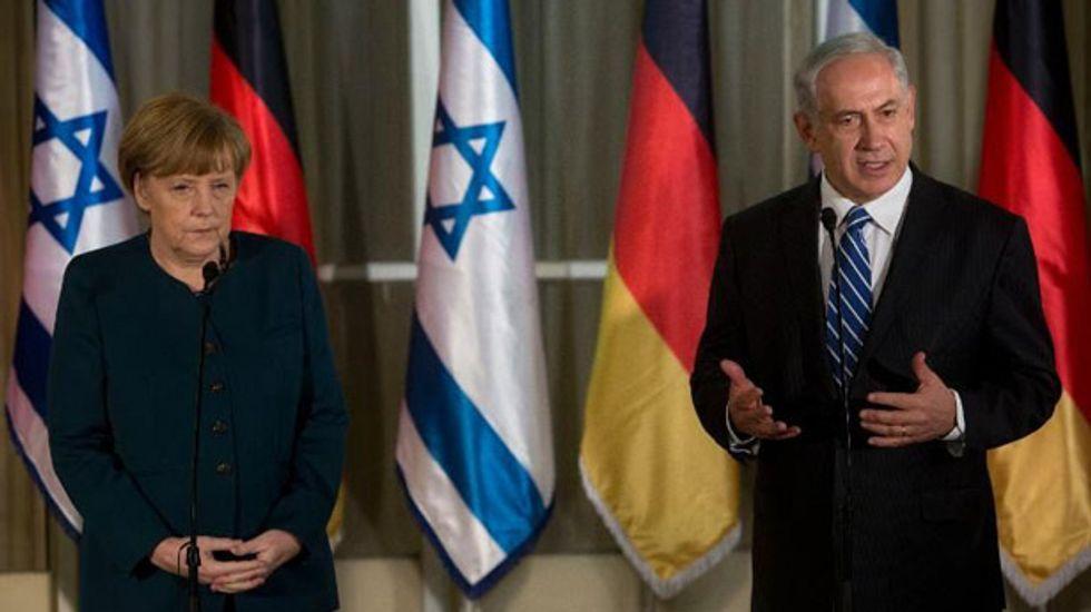 Israel's Netanyahu cites 'security' after air raid against targets on Syria-Lebanon border