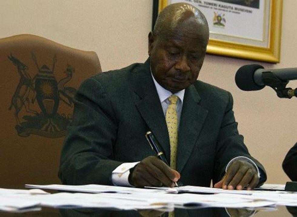 Uganda newspaper names 200 'homos' after anti-LGBT law signed