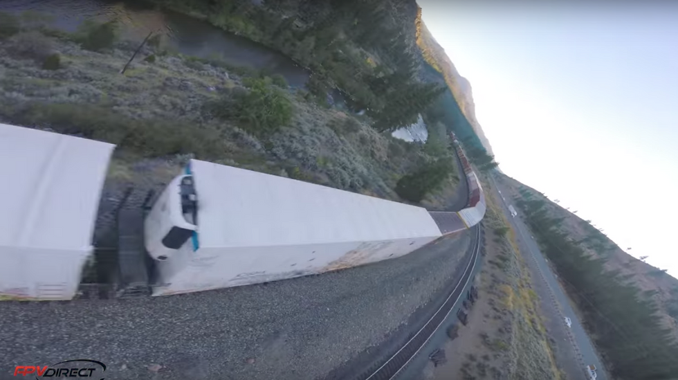 WHOA: This insane drone video makes it feel like you're flying