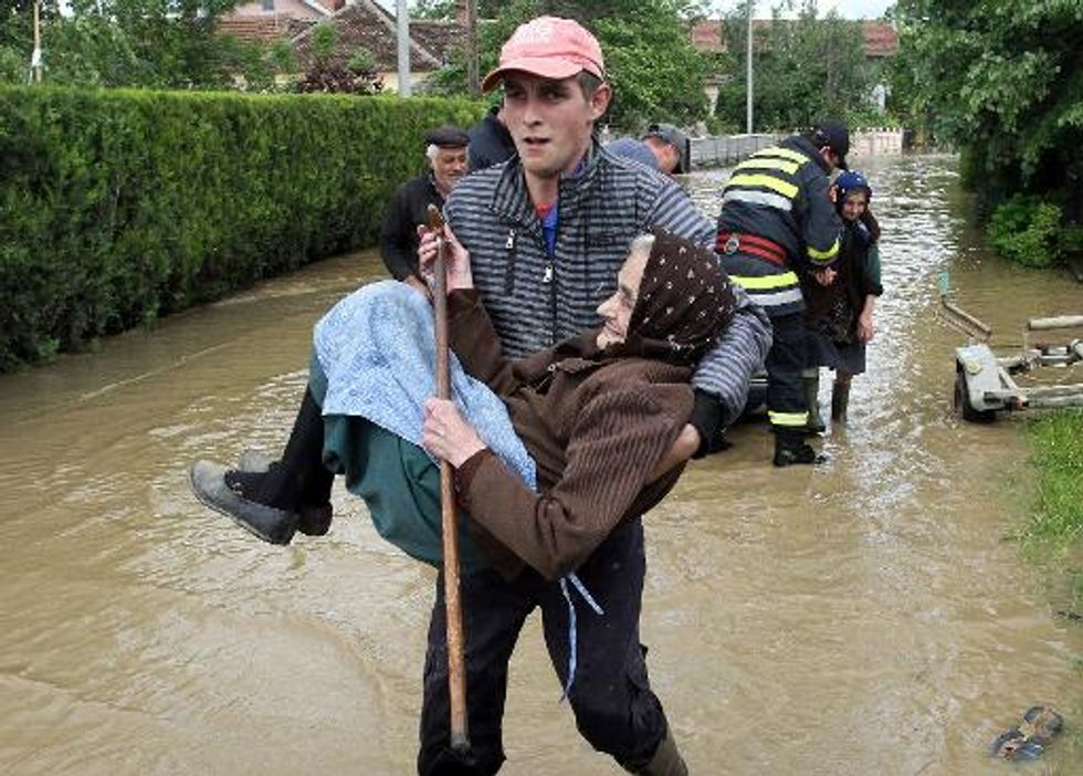 At least 30 dead in massive flooding in Bosnia and Serbia