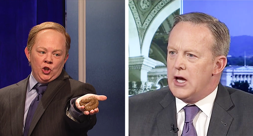 We have Melissa McCarthy to thank for Sean Spicer's downfall — raising his profile was the kiss of death