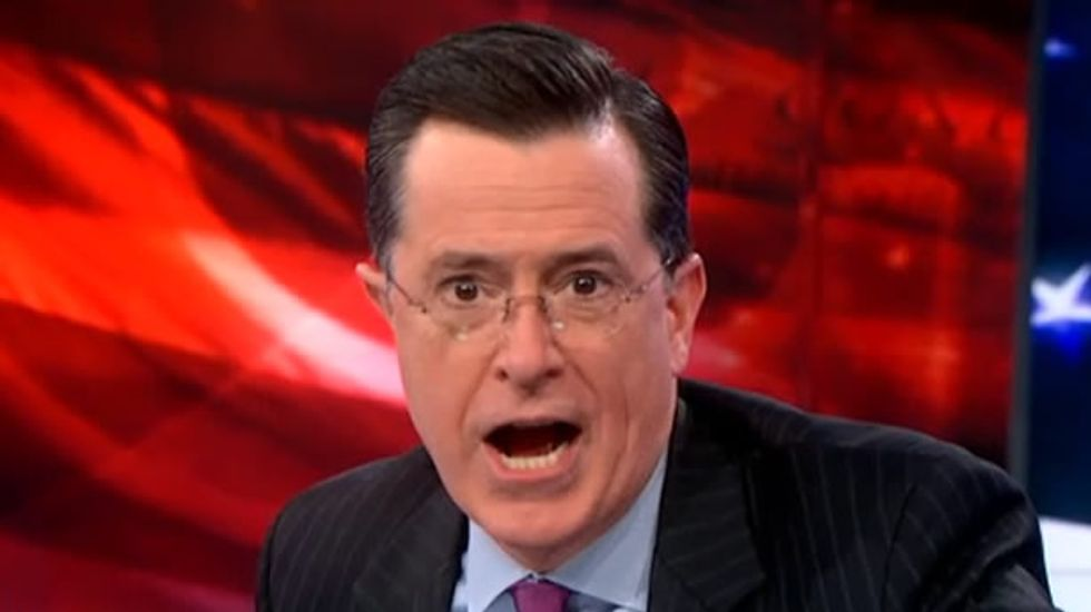 Stephen Colbert tears Huffington Post a new one over campus anal sex 'click-bait'
