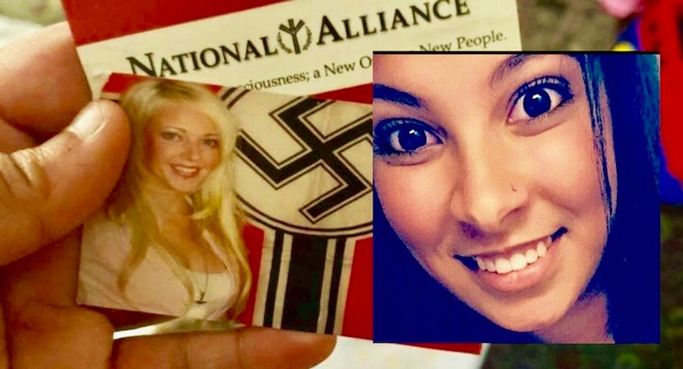 Black Virginia woman pelted with stack of Nazi propaganda while walking to lunch
