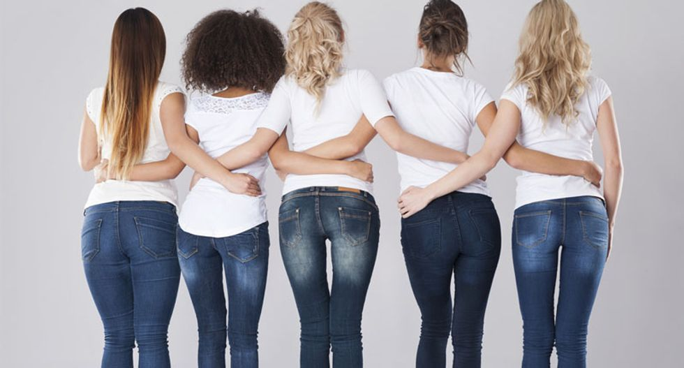 Squatting in tight 'skinny jeans' can cause nerve damage, doctors warn