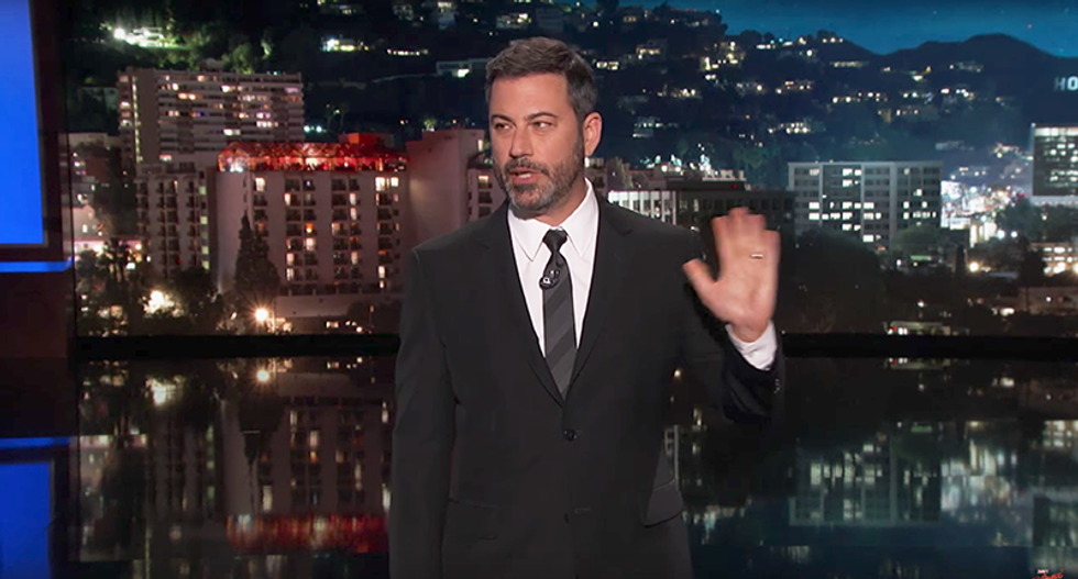 Jimmy Kimmel escalates feud with Donald Trump Jr. in hilarious opening monologue