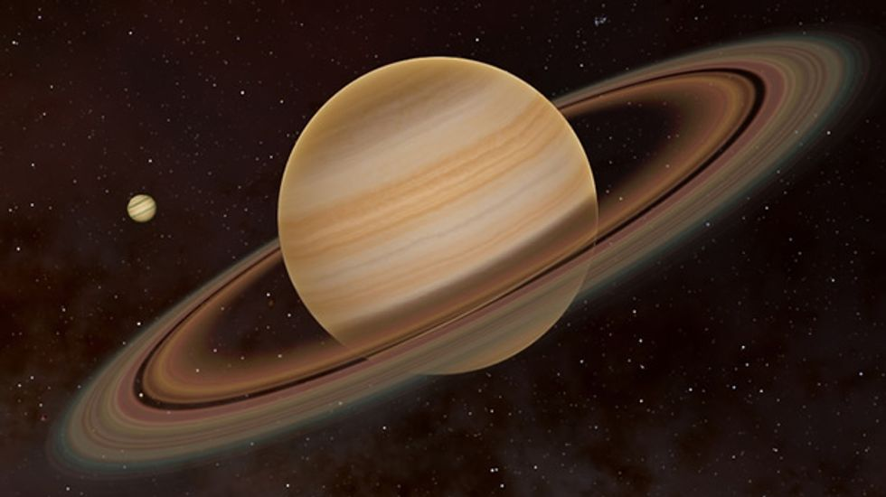 WATCH: Stunning animation of what a close encounter with Saturn would look like