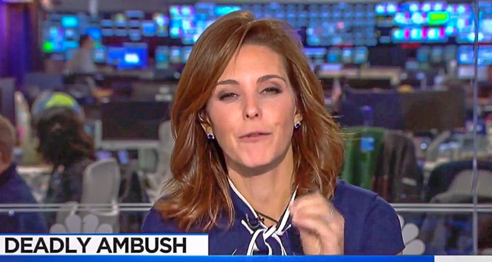 MSNBC's Stephanie Ruhle bursts into tears shaming Trump over fallen soldiers: 'Families are heartbroken'