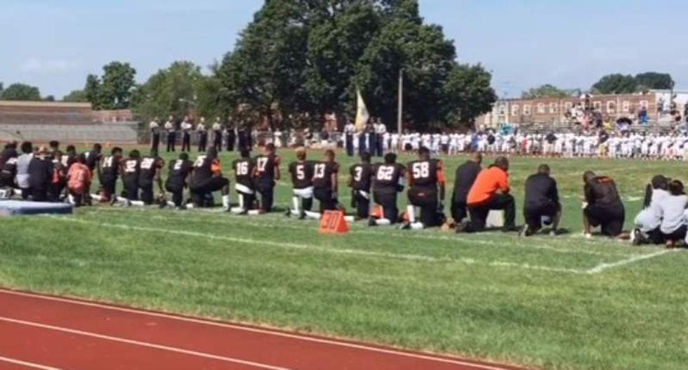 NJ diocese threatens Catholic players joining Kaepernick protest: 'Free speech ... is not guaranteed'