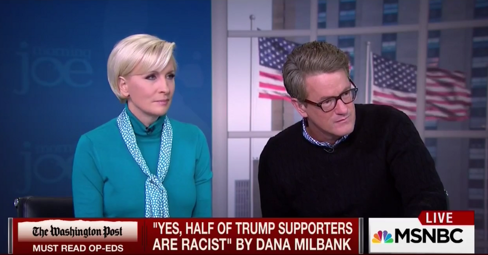 Morning Joe thinks Hillary has a point on Trump fans: Wanting to ban a religion is 'deplorable'