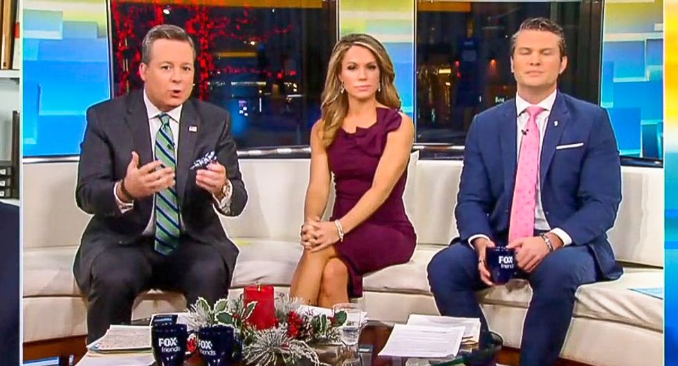 'That stops me in my tracks': Conservative writer stuns Fox & Friends by revealing Trump likely to be indicted