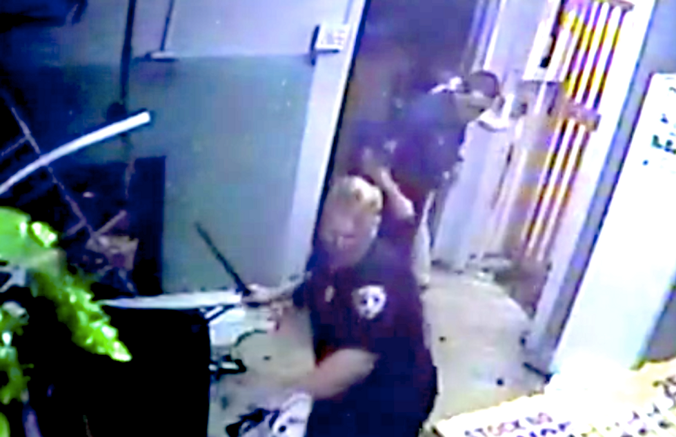 Rhode Island cops accuse black man of assault -- but video reveals they attacked him first