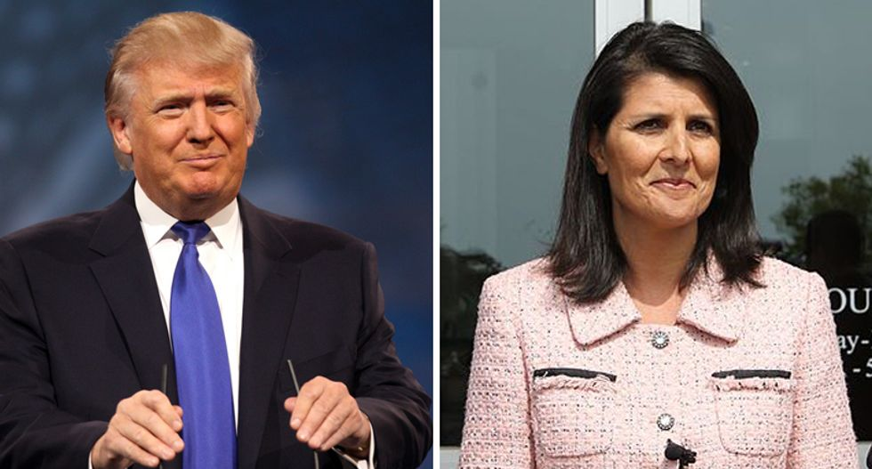 Amb. Haley pours cold water on Trump's pledge to 'terminate' NAFTA: 'We would have done it already'