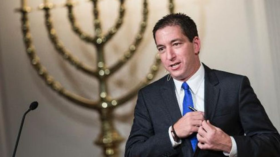 Glenn Greenwald bashes 'actors who play the role of journalists on TV'