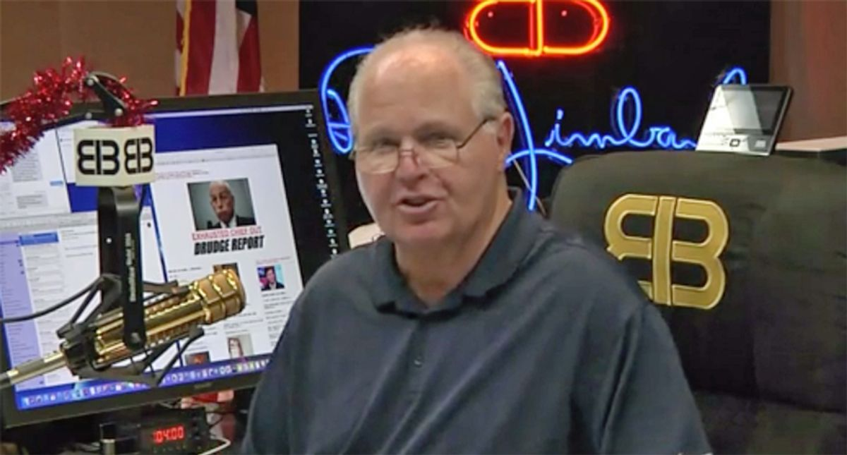 Rush Limbaugh's producer asks for prayers as ailing talk radio host misses another show