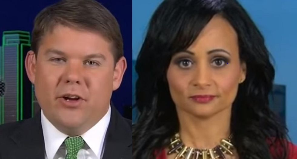 WATCH: CNN guest schools Trump spokeswoman for 'sick and vile' use of veterans as 'political pawns'