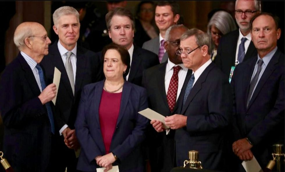 Why have no Republicans turned on Trump? A corrupted Supreme Court