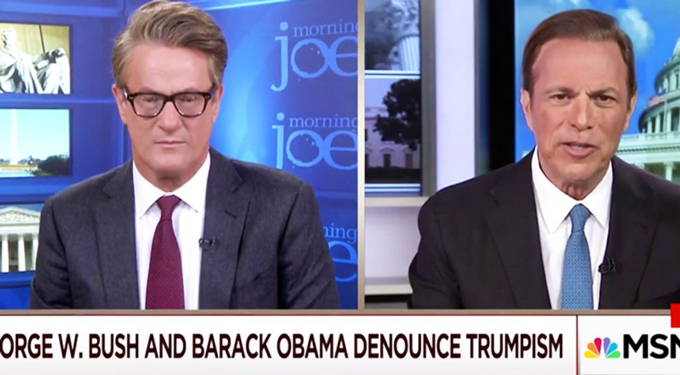Presidential historian Michael Beschloss explains the significance of yesterday's Bush-Obama attack on Trump